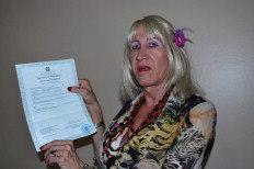 Marcelly Malta Schwarzbold, 60 anos, entrou com o pedido em novembro do ano passado-Divulgação/Somos