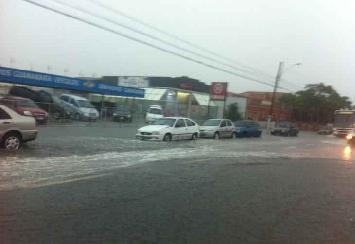 A cidade de Rio Grande também foi atingida pela chuva:imagem 14