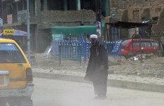 Ataques atingiram vários edifícios governamentais em Kandahar-Manan Vatsyayana/AFP Photo