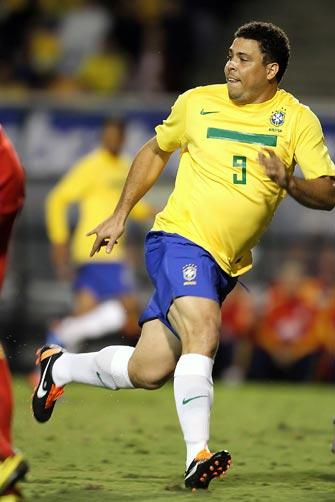 Ronaldo teve três boas chances de gol ao longo dos minutos em que esteve em campo:imagem 4
