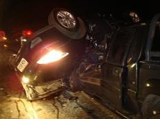 Dalestra foi arremessado para fora do veículo - Brigada Militar / Divulgação