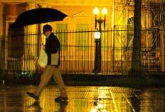 Chuva começou no início da noite em Porto Alegre-Jean Schwarz