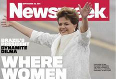 Revista cita o crescimento econômico do Brasil e a participação de Dilma nesse processo de mudanças-Newsweek/Reprodução