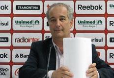 Assim como Anápio, Luigi entende que clube terá mais tranquilidade para tocar as obras - Diego Guichard