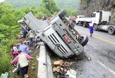 Tombamento de caminhão matou criança em Flores da Cunha, no sábado - Roni Rigon