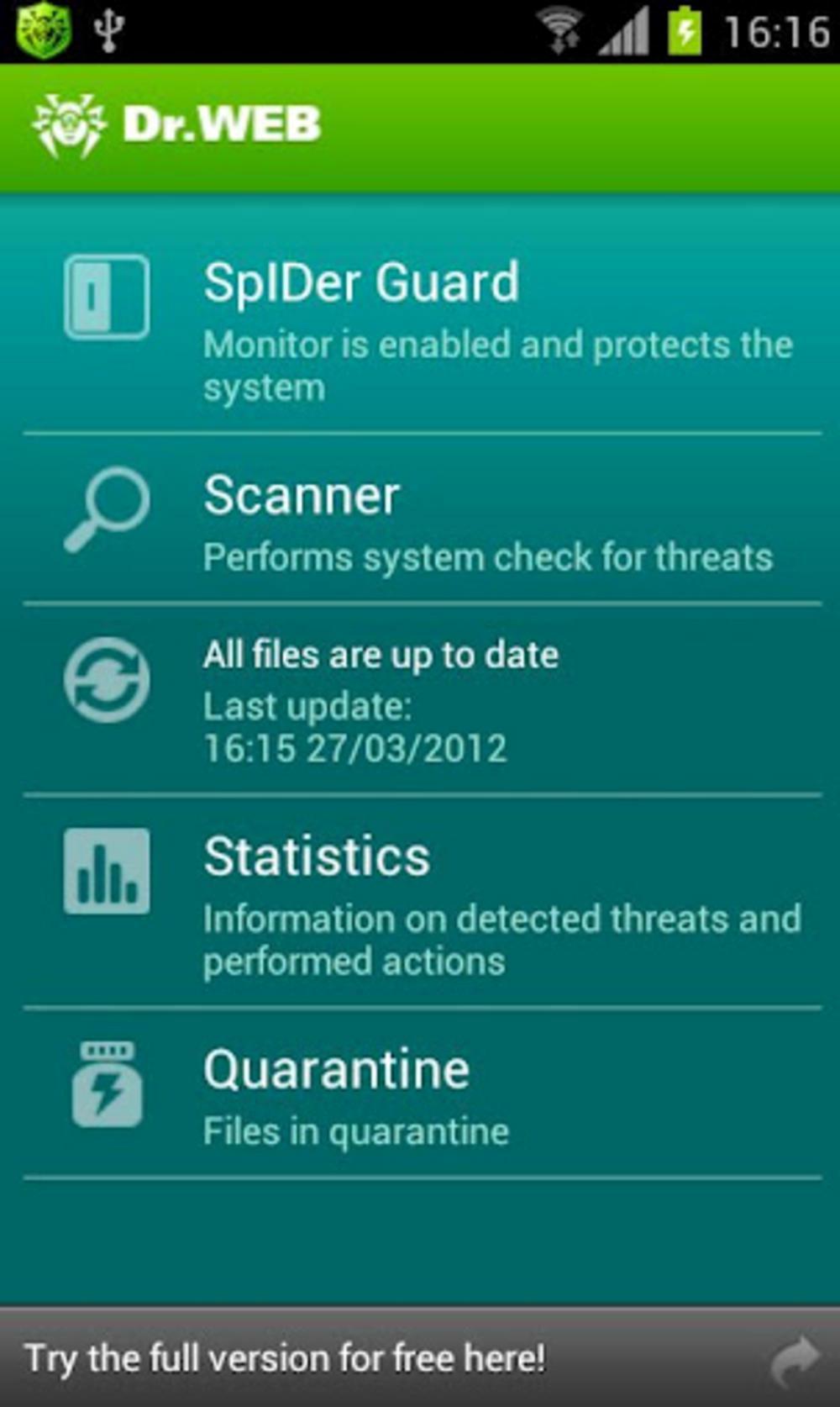 Антивирус Dr.Web - беспроигрышный инструмент обороны вашего довольно
