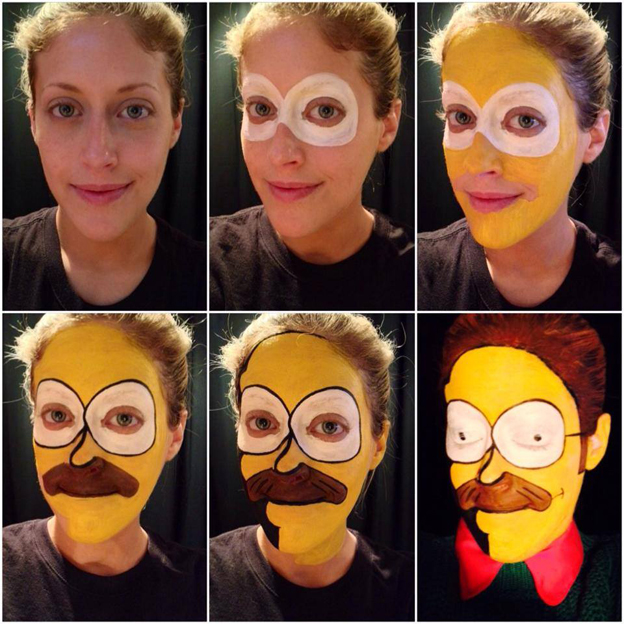 Muito Artistas usam o rosto como tela e recriam personagens através de  XG18