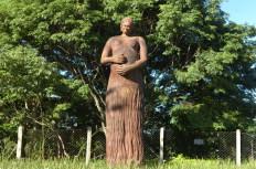Libório da Silva Jr. acertou que a foto se tratava da estátua em Homenagem à Mãe-Ronaldo Bernardi