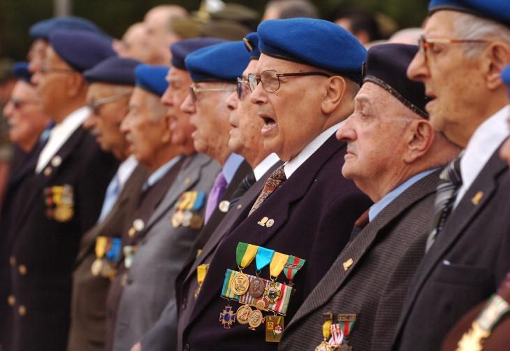 Pracinhas da Segunda Guerra são homenageados no Parque Farroupilha