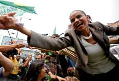 Candidata foi a mais votada no Distrito Federal, com mais de 40% dos votos-Natacha Pisarenko, AP
