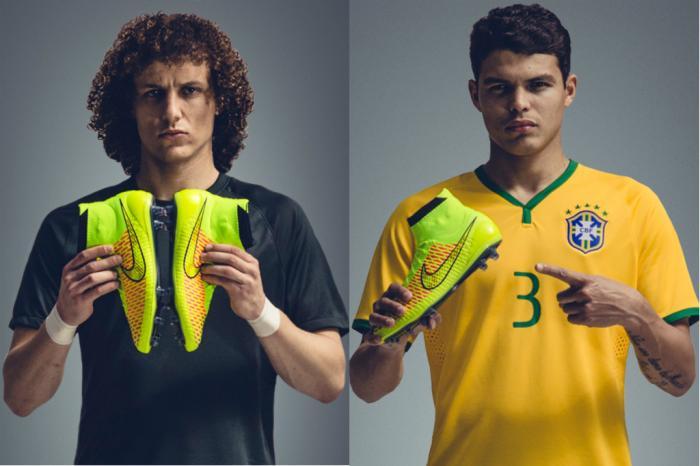 e69adbeadc A dupla da zaga da Seleção Brasileira usará o mesmo modelo de chuteira